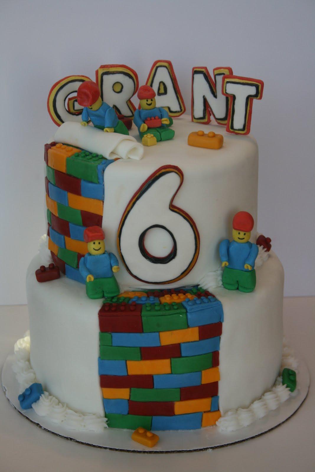 Birthday Cake Lego Design