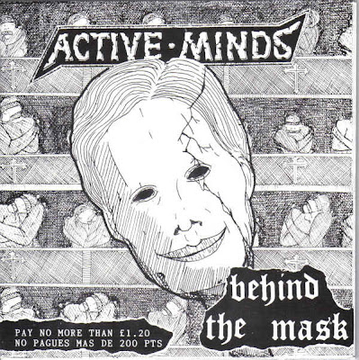 ACTIVE MINDS - Behind the mask  EP (1993)