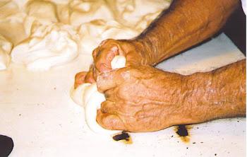 Las manos del panadero