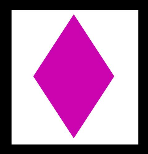 Rombo para colorear - Imagui