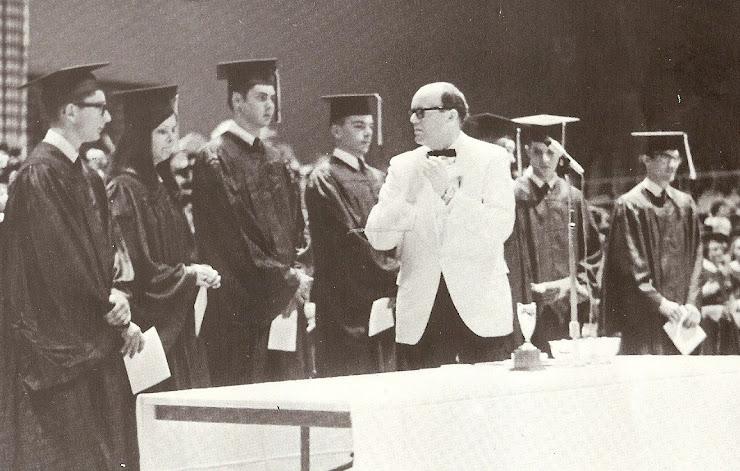 Graduation, May 1968