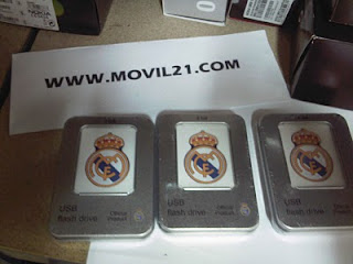 Pendrive USB 4GB Real Madrid
