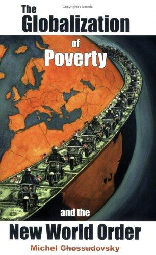 """globalization of poverty A story in the washington post said """"20 years ago globalization was pitched as a strategy that seated problems like unemployment and poverty."""
