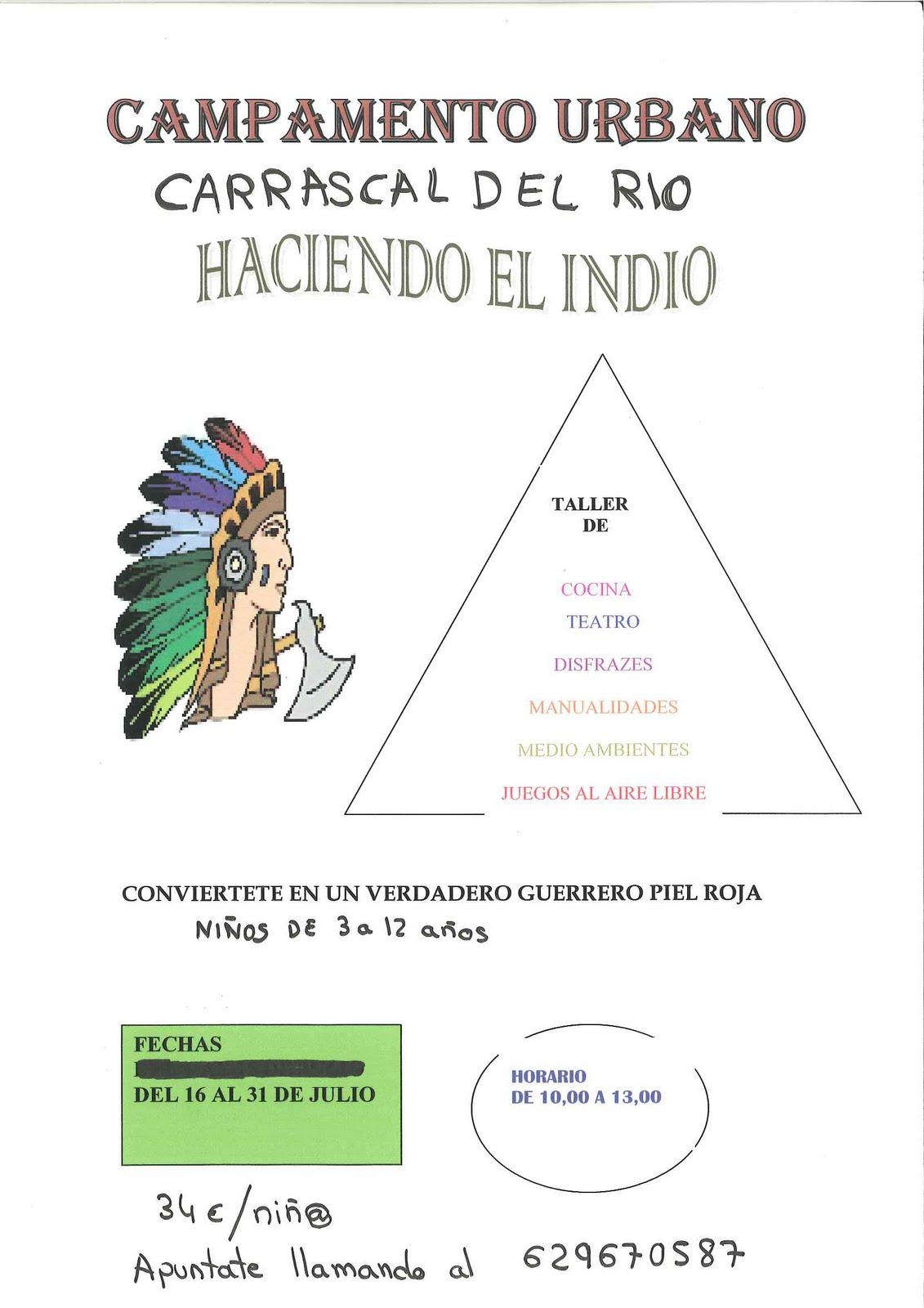 Carrascal del r o campamentos urbanos para chicos y chicas - Haciendo el indio ...
