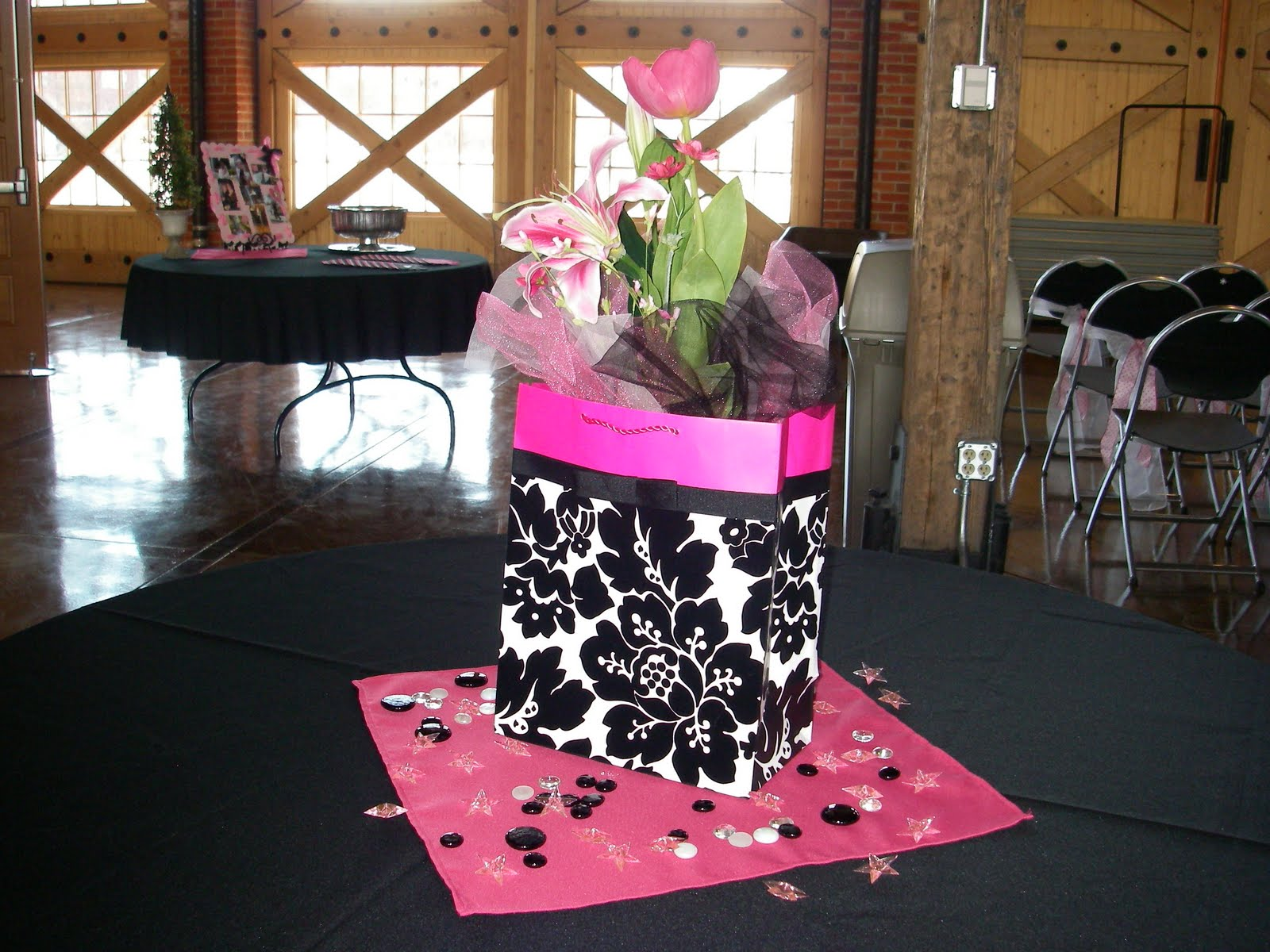Gift Boxes Centerpieces Gift Bag Centerpieces