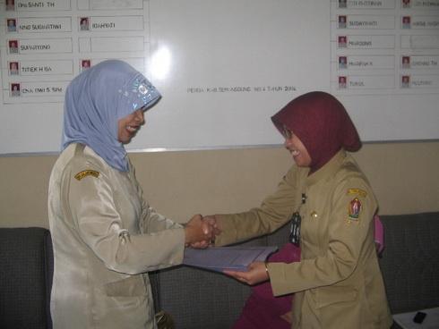 Seleksi Kontingen Temanggung untuk Jambore PTK-PNF 2010