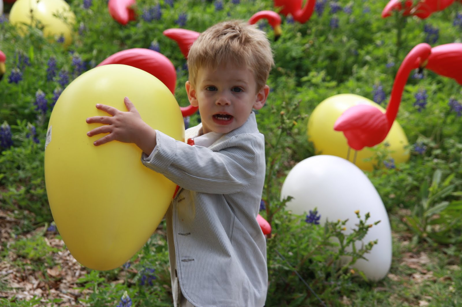 Schulz Sightings Attempted Easter Pictures