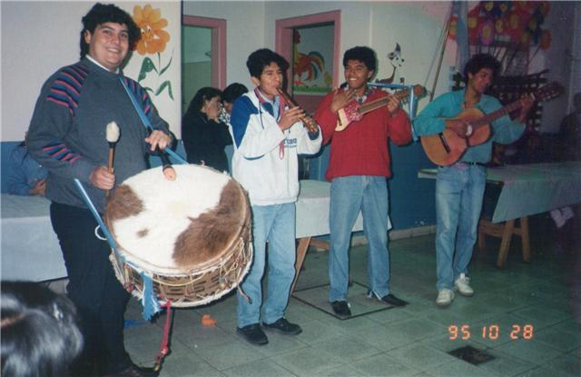 EL GRUPO EN 1995