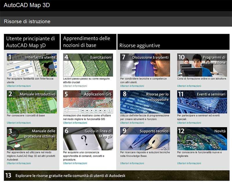 Il blog italiano di autocad map e civil 3d esercitazioni for Cad 3d free italiano