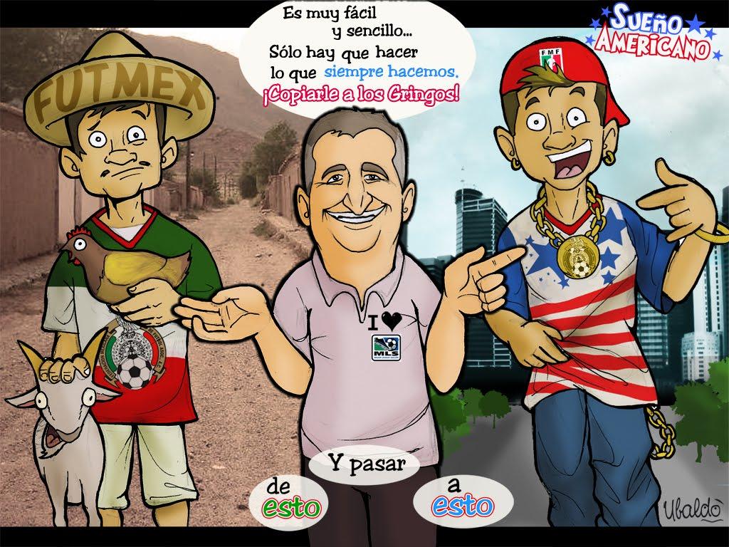 Del Paso pa bajo son todos Sudamericanos, y del Paso pa arriba sólo viven los Americanos. Sueño+Americano
