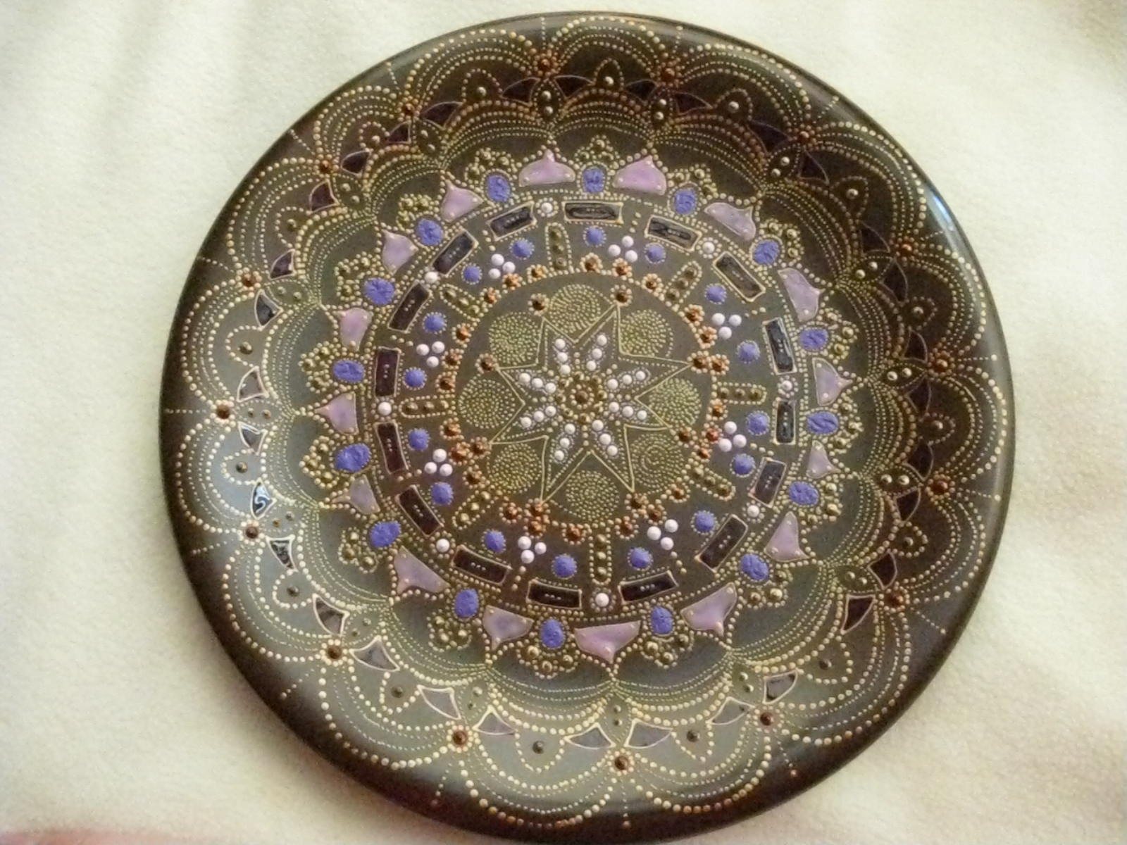my hand painted ceramic plates mandala like ornament & life is fun life is supposed to be fun!! always: my hand painted ...