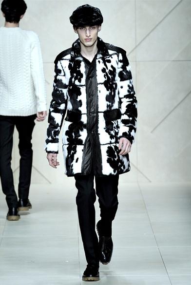 Дубленка мужская модная | 00480m | Burberry