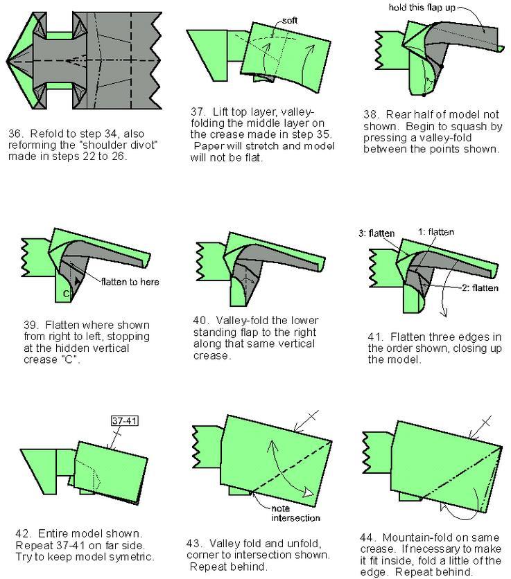 Схемы оригами с деньгами 99