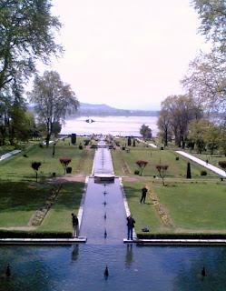 Nishat Bagh, Srinagar, Kashmir