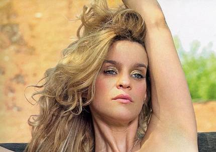 fotos de leticia bredice en playboy: