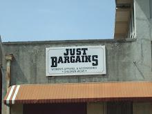 Just Bargins