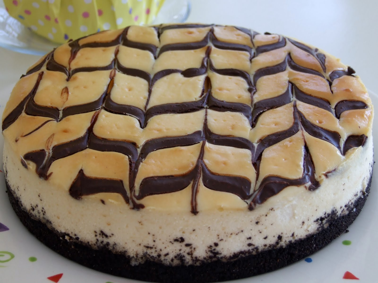 The Good Life Gourmet: Espresso Cheesecake