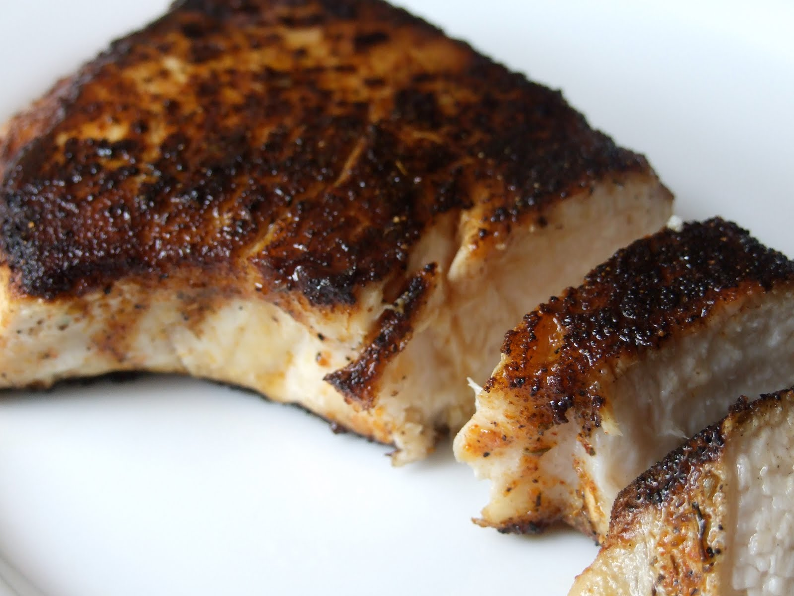 The good life gourmet blackened fish for How to make blackened fish