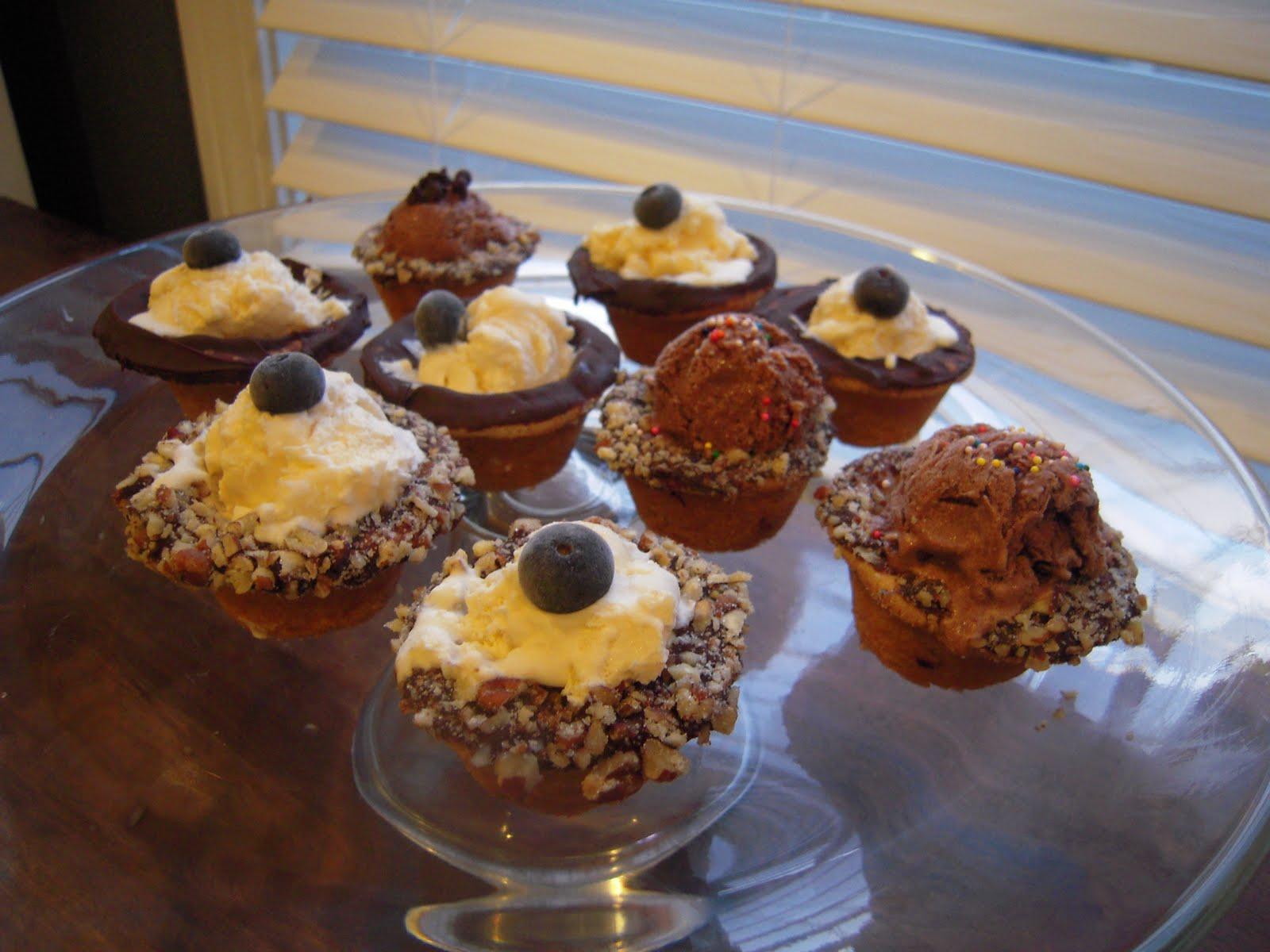 Adventures in Contesting: Mini Ice Cream Cookie Cups