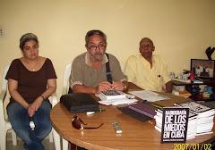 LANZAMIENTO DE UN LIBRO DE AUTOR DISIDENTE EN UNA CASA HABANERA