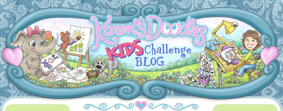 Karens Doodles Kids Challenge