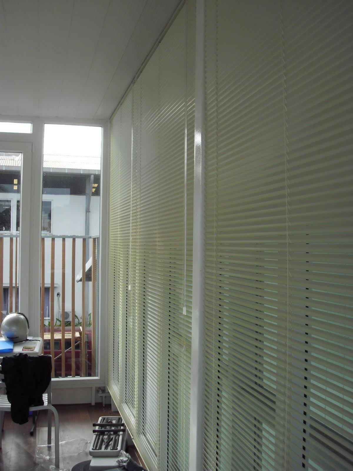 Pemasangan Horizontal Blind Di Pt Indah Varia Eka Selaras