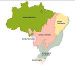 O Mapa dos biomas brasileiros