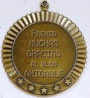 Premio Muchas Gracias al blog AMIGABLE