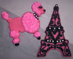 """The PINK POODLE OF PARIS"" made exclusively for Miss Saylor Hodges"
