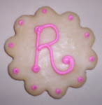 """PERSONALIZED"" SUGAR COOKIE FAVORS"