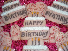 """Birthday Cake"" Cookies"