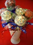 Patriotic Cupcake Pops