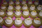 Banana Cupcakes with Honey Cinnamon Frosting