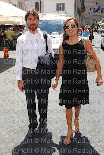 Marcellino Radogna Fotonotizie Per La Stampa Giorgio Rutelli E Barbara Palombelli