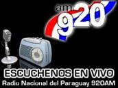 PARA ESCUCHAR RADIO NACIONAL DEL PARAGUAY