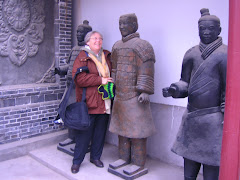 Buveh and Terracotta Warrior, Xi'an, China - Dec. 2007