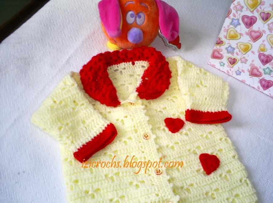 Este macacãozinho foi feito com a lã super bebe da cisne