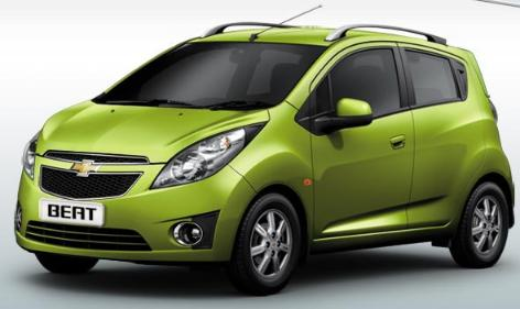 Chevrolet Beat is powered by a 1.2 litre 4 cylinder engine which will