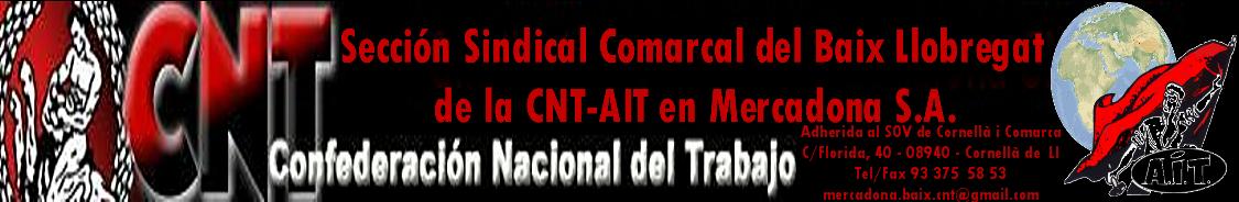 Sección Sindical Baix Ll. de CNT-AIT en Mercadona