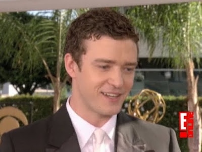 Justin Timberlake Emmy Awards 2009 61st smile screengrabs screencaps captures images photos pictures video