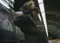 Covert Affairs Pilot episode screencaps Annie Walker Piper Perabo CIA agent Stas George Tchortov Russian agent fight images photos pictures screengrabs captures