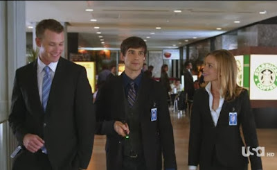 Covert Affairs Pilot episode screencaps Annie Walker Piper Perabo CIA agent images photos pictures screengrabs captures Christopher Gorham Auggie Anderson Conrad Sheehan III Eric Lively blind