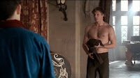 Merlin The Tears of Uther Pendragon King Arthur Bradley James Merlin Colin Morgan Morgana Katie McGrath Gwen Angel Coulby Gaius Richard Wilson Uther Anthony Head screencaps images pictures photos recaps shirtless