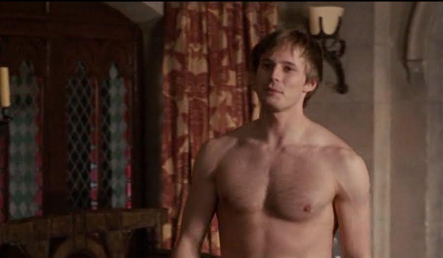 james shirtless bradley Merlin
