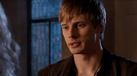 Merlin The Tears of Uther Pendragon screencaps images photos pictures screengrabs Arthur Bradley James worried