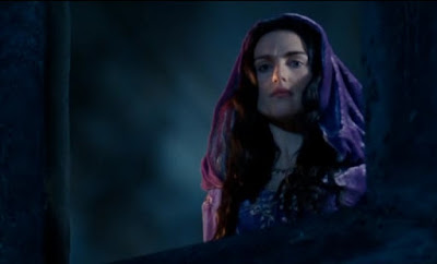 Merlin The Tears of Uther Pendragon screencaps images photos pictures screengrabs Morgana Katie McGrath cloak