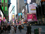 Times Square in New York City, US