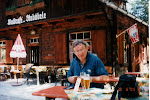 Zwei Bier efter nått toppen på Stuibenfall