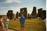 Stonehenge - Bloggaren i förgrunden