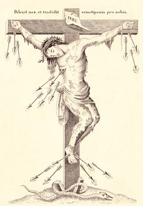 +  St Alphonsus' Crucifix  +